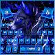 Neon Galaxy Wolf Keyboard Theme Download for PC Windows 10/8/7