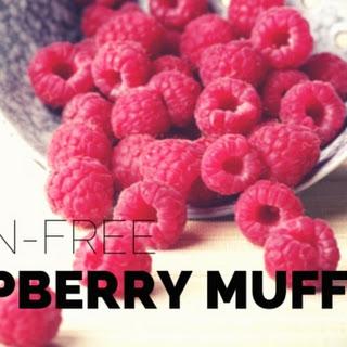 Grain Free Raspberry Muffins