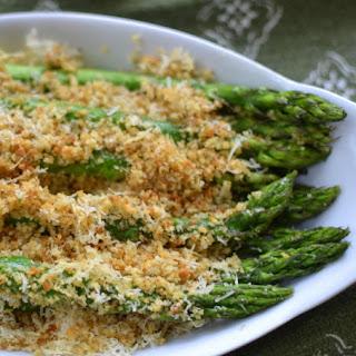 Parmesan Crumb Asparagus.