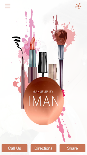 makeupbyiman screenshot