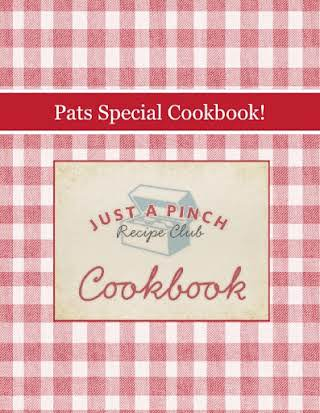 Pats Special Cookbook!