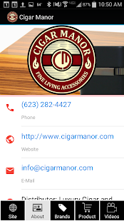 Cigar Manor Store- screenshot thumbnail