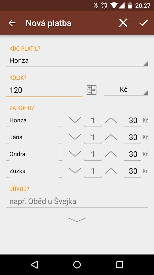 Dlužníček - screenshot