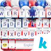 Keyboard - 4th of July New Free Theme