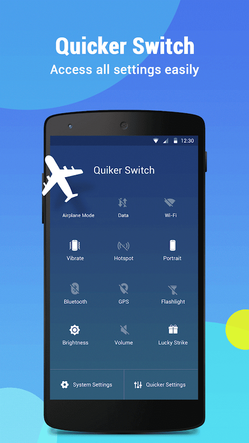 Quicker - Easy Touch Assistant- screenshot