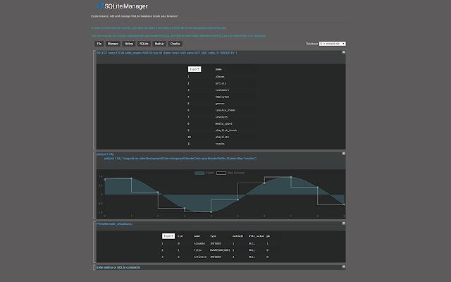 SQLite Manager