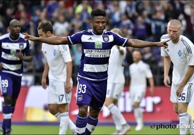 Un changement Suarez-Ezekiel est délicat à Anderlecht