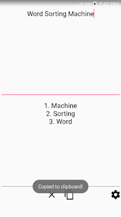 Word Sorting Machine - náhled