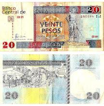 Photo: cuba currency cuc. Tracey Eaton photo.