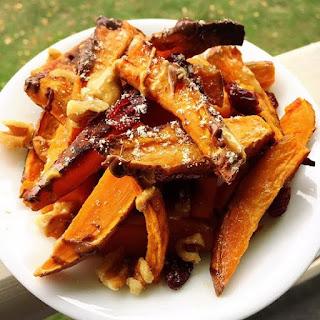 Sweet Potato Dessert Nachos