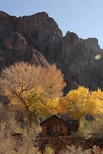 Photo: Phantom Ranch cabin