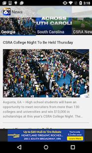 WJBF News Channel 6- screenshot thumbnail