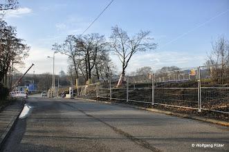 Photo: Ehmannstraße und Rodungsfläche