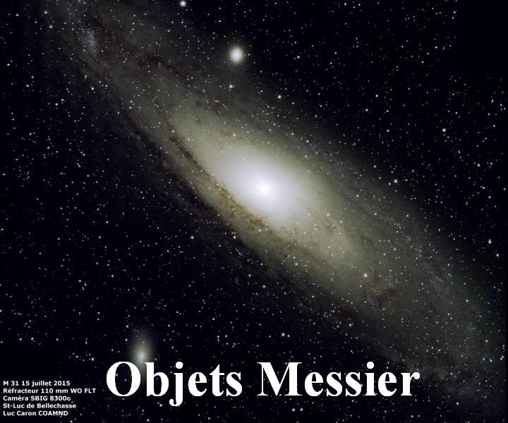Objets Messier