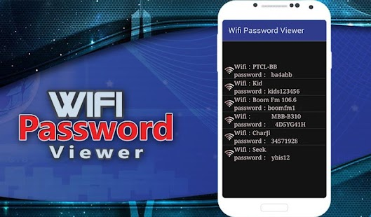 Download Wifi Password Viewer For PC Windows and Mac APK 1 0