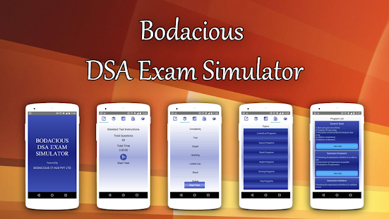 Bodacious DSA Exam Simulator- screenshot thumbnail