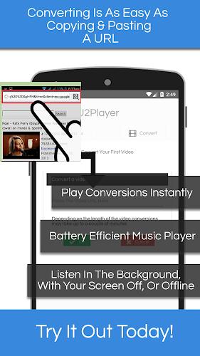 YouT URL Converter, Convert Video To MP3 U2Player