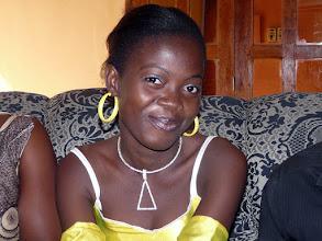 Photo: ma filleule Josette Atadé, 20 ans, déjà licenciée en Droit