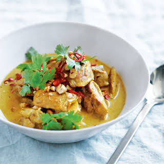Chicken And Cashew Massaman Curry.