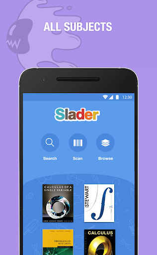 Slader - Textbook Solutions! Screenshot