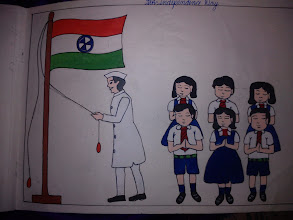 """Photo: Siddhi-chan, my younger niece's collection number 1, """"Independence Day."""" How cute the face expression of every child is! 27th November updated - http://jp.asksiddhi.in/daily_detail.php?id=375"""