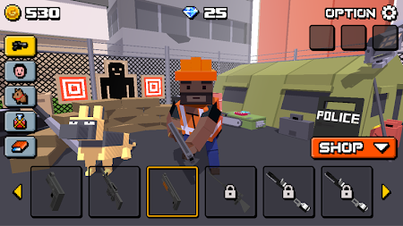 Cube Zombie War 1.2.2 screenshot 522661