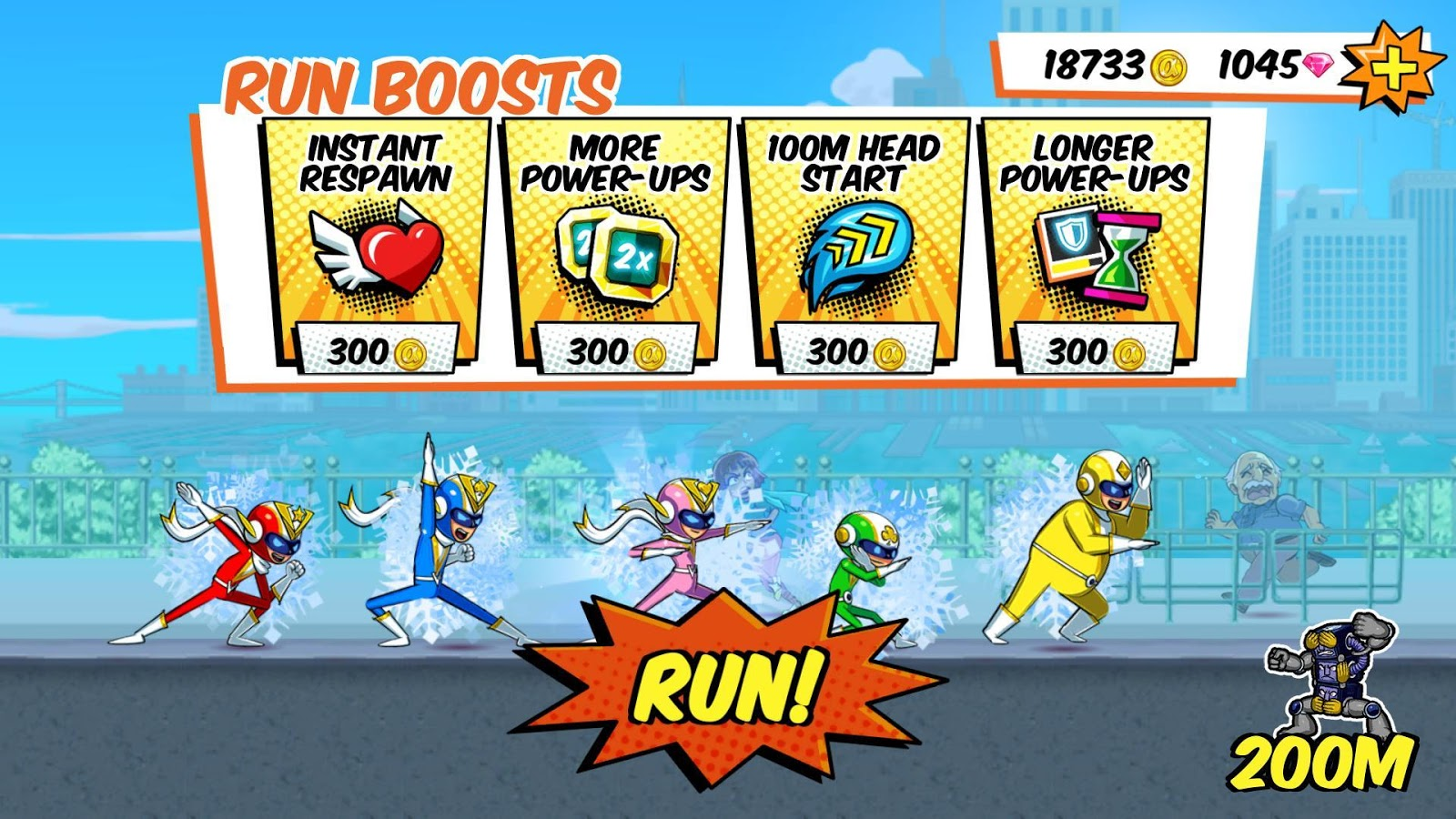 Run Run Super V- screenshot