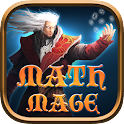 math mage flashcard game icon