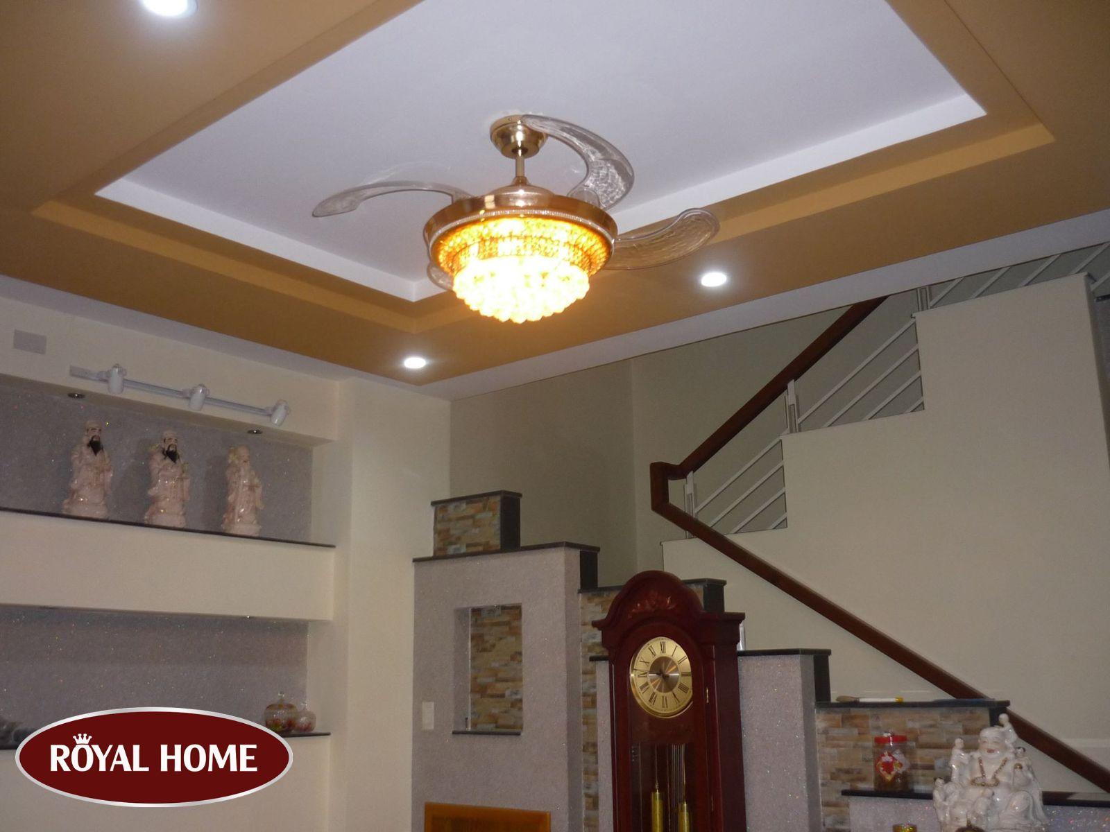 Bật mí đơn vị bán quạt trần có đèn trang trí uy tín nhất tại Hà Nội