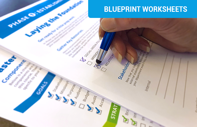Blueprint Worksheets
