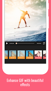 GIF Maker PRO Video to GIF, GIF Editor MOD APK [Features Unlocked] 3