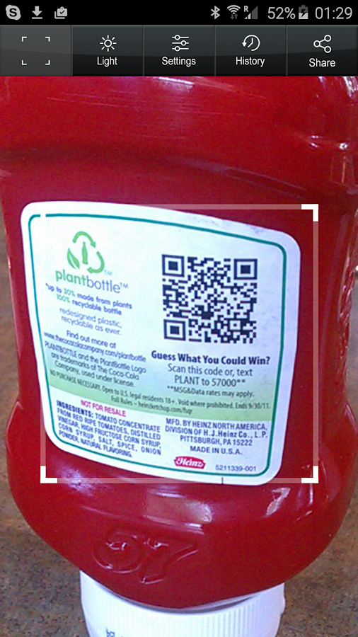 QR Code Reader PRO Screenshot 0