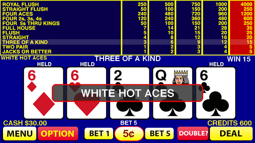white hot aces screenshot 1