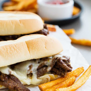 Spicy Cajun Cheesesteak Sandwiches.
