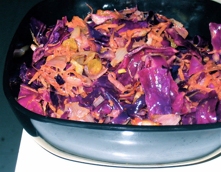 Tassajara Warm Red Cabbage Salad Recipes — Dishmaps