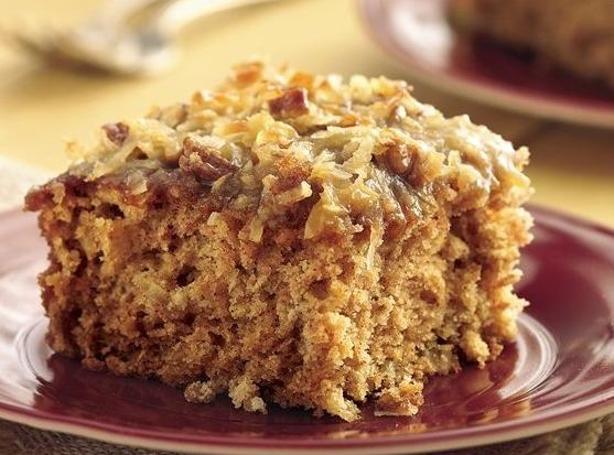 Bake at 350 degrees for 35 to 40 minutes until cake is done. ...