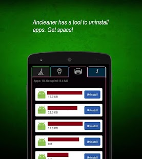 Ancleaner, Android cleaner- screenshot thumbnail