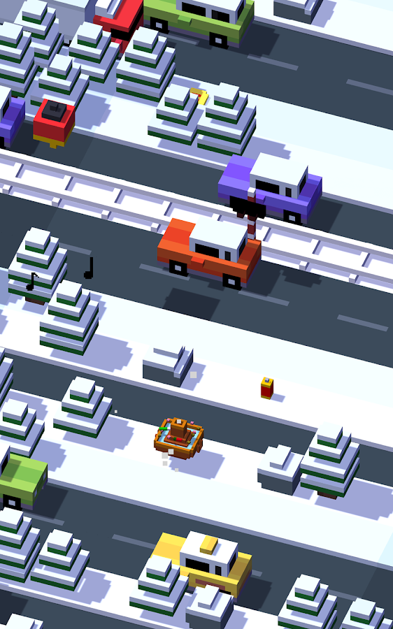 Crossy Road: captura de tela