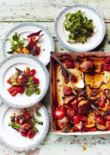 Jamie Oliver's Hit 'n' Run Traybaked Chicken
