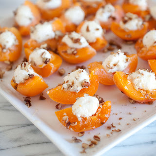 Stuffed Apricots Cheese Recipes