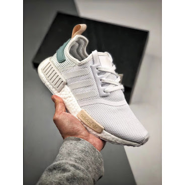 Adidas NMD R1 (White/Tactile Green)