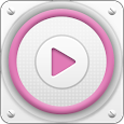 PlayerPro Cloudy Pink Skin icon