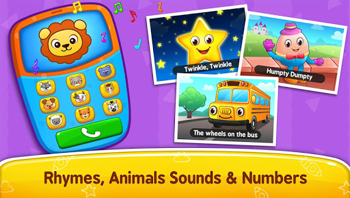 Baby Games - Piano, Baby Phone, First Words Apk 1