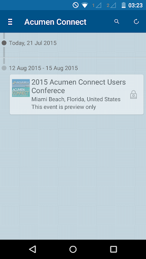 Acumen Connect Users Conf