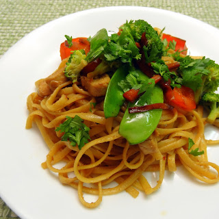 Asian Peanut Noodle Stir-Fry