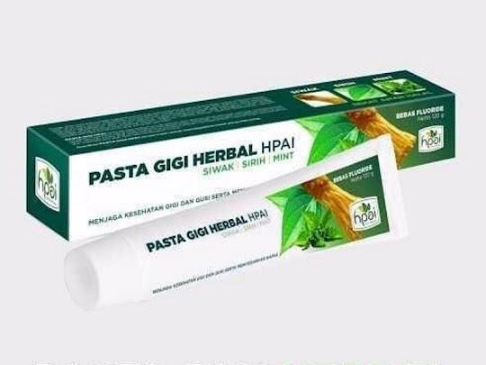 Pasta Gigi Herbal HPAI PGH Odol HPAI memutihkan gigi menyehatkan gusi menghilangkan karang gigi