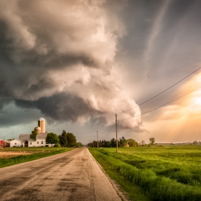 Wicked by Andy Taber - Landscapes Weather (  )