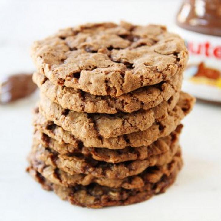 Nutella Oatmeal Cookies