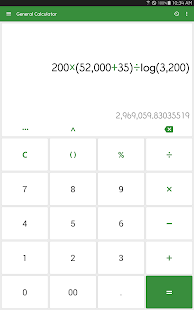ClevCalc - Calculator- screenshot thumbnail