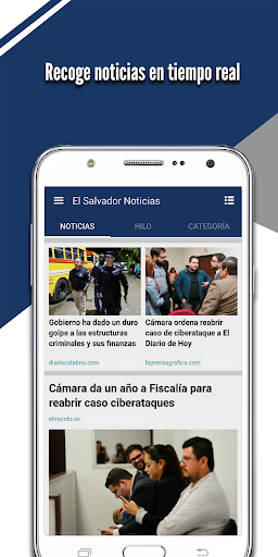 El Salvador Noticias screenshot 1